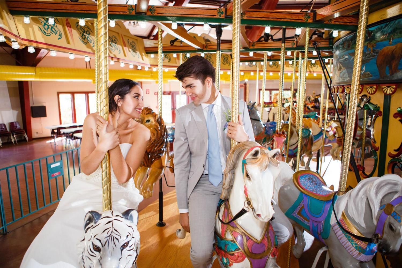 staring on carousel